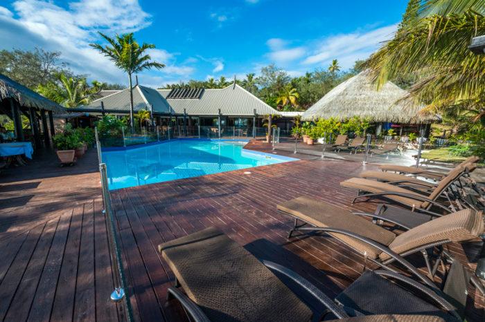 Hôtel Oasis de Kiamu 2* <br/> <span style='font-size:20px;'>Nouvelle-Calédonie - Lifou </span>